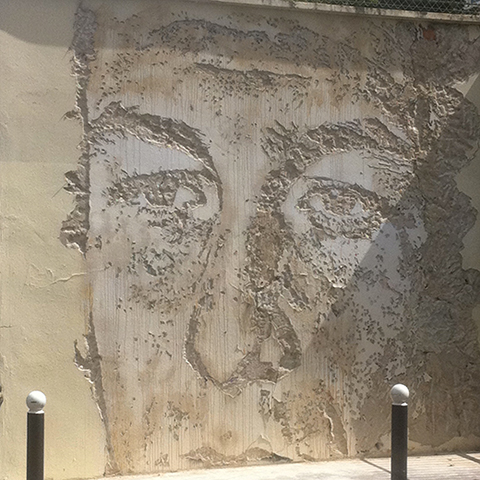 Vhils – Untitled