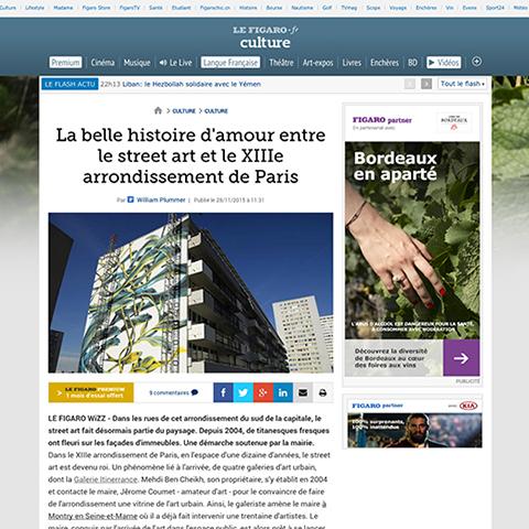 La belle histoire d'amour entre le street art et le XIIIe arrondissement de Paris