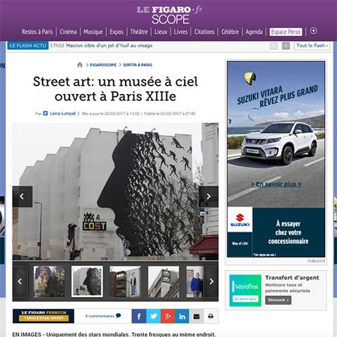 Street Art, un musée à ciel ouvert à Paris XIII