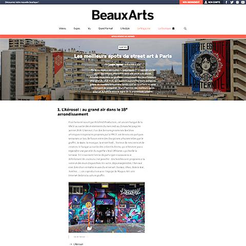 Les meilleurs spots de street art à Paris