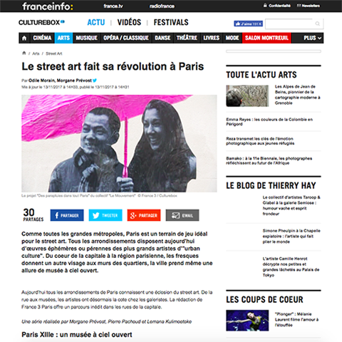 Le street art fait sa révolution à Paris