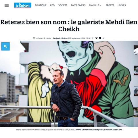 Retenez bien son nom : le galeriste Mehdi Ben Cheikh