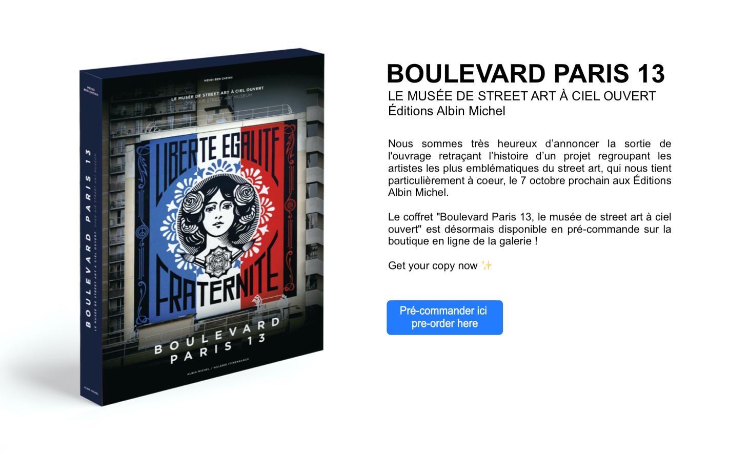 Coffret Boulevard Paris 13